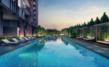 Juniper Hill 50m Lap Pool Singapore